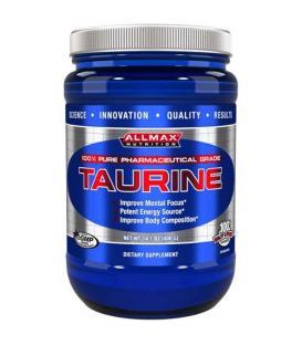 AllMax Taurine цена за 100 или за 400 грама.
