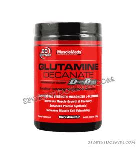 Glutamine Decanate цена за Глутамин 300gr от MuscleMeds.