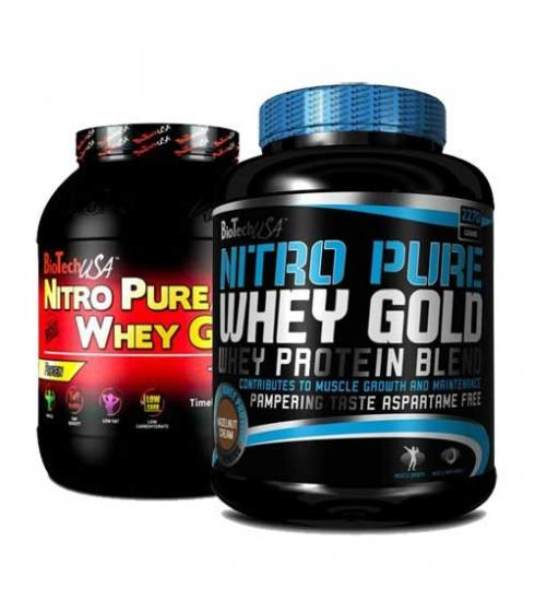 Nitro Pure Whey Gold 2.200kg - Biotech
