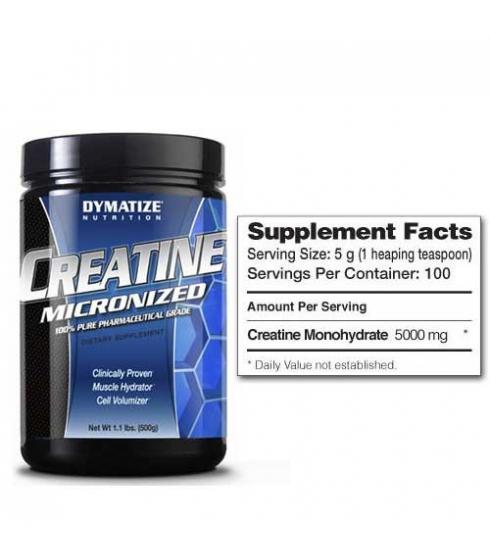 Creatine Monohydrate 500gr - Dymatize