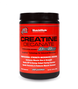 Creatine Decanate MuscleMeds | Качествен креатин монохидрат 300гр.