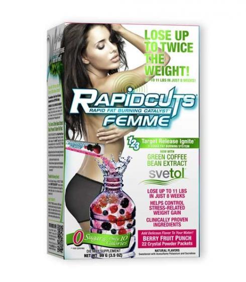 Rapidcuts Femme Stick Pack (AllMax) Ефективен Фет Бърнър за жени.