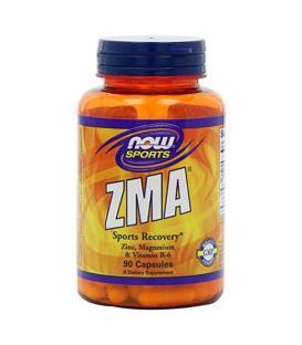 NOW ZMA 90 дражета - цинк, магнезий и витамин B-6.