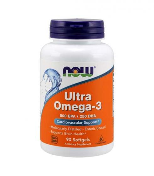 Now Ultra Omega-3 EPA / DHA цена - 90 дражета.