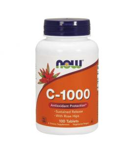 Now Vitamin C 1000 mg Sustained Release 100 таблетки