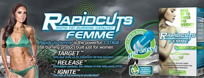 AllMax Rapidcuts Femme цена от производител. Качествен фет бърнер за жени и отслабване.